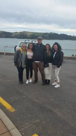 Waiheke-eiland, Nieuw-Zeeland: Our personal tour guide for the day