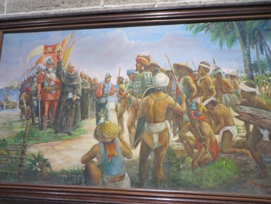 Museo San Agustín: A painting at the museum