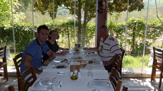 kusadasi tour company lunch at the turkmen restaurant