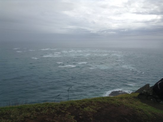 Kaitaia, นิวซีแลนด์: where the Tasman Sea meets the Pacific Ocean