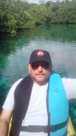 Casa Cenote: increible paseo en kayak