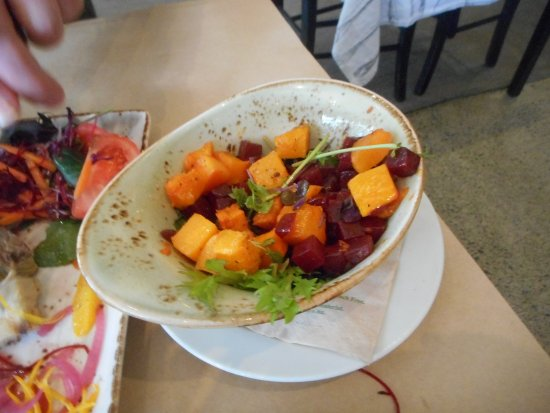 Matakana, Nova Zelândia: pumpkin and beetroot