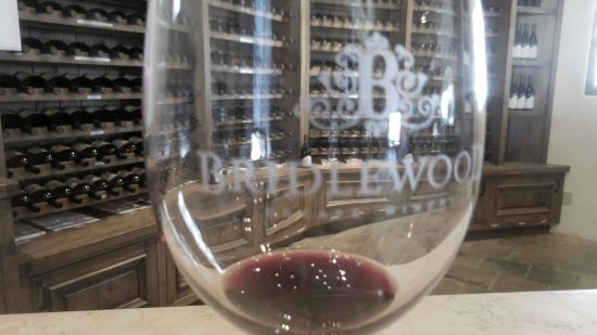 Santa Ynez, CA: Bridlewoood is Gorgeous,but it's all about the Wine