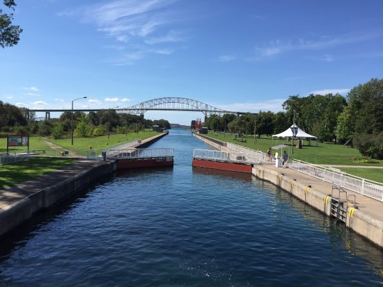 ‪Sault Ste. Marie Canal National Historic Site‬
