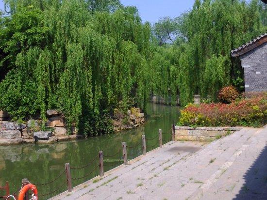 Zaozhuang, Kina: 台兒莊水鄉風光三
