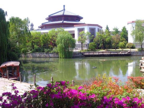 Zaozhuang, Kina: 台兒莊水鄉風光5