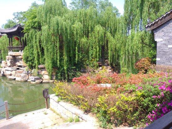 Zaozhuang, Kina: 台兒莊水鄉風光6