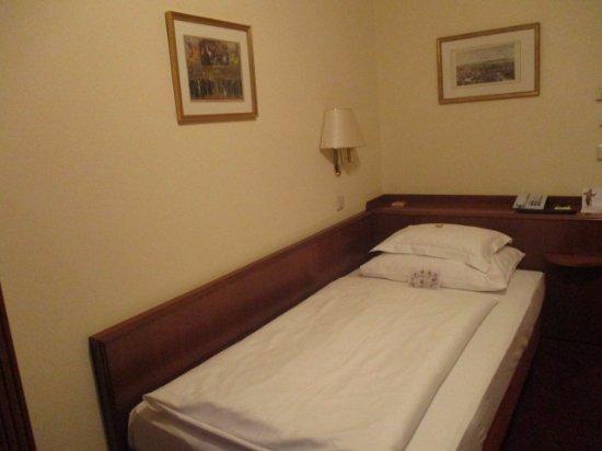 Hotel Stefanie: シングルベッドの部屋でした