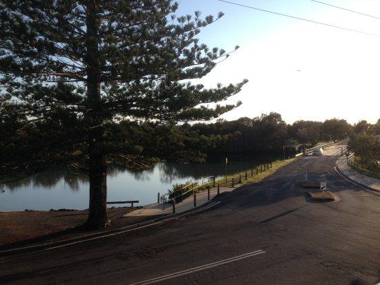 Brunswick Heads, Australien: View from room 10 balcony