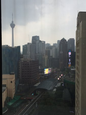 PARKROYAL Kuala Lumpur: 16th floor view from the room