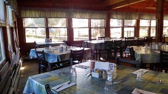 Crumpler, NC: Dining room.