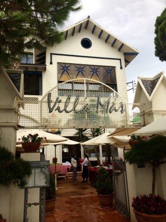 Restaurant Villa Mas Foto De Restaurant Villa Mas Sant Feliu De Guixols Tripadvisor