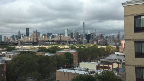 BEST WESTERN Plaza Hotel: Vista di Manhattan di mattina