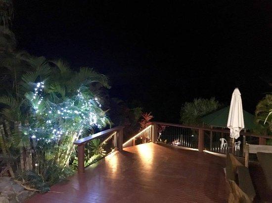 Mooloolah Valley, Αυστραλία: Night time Deck
