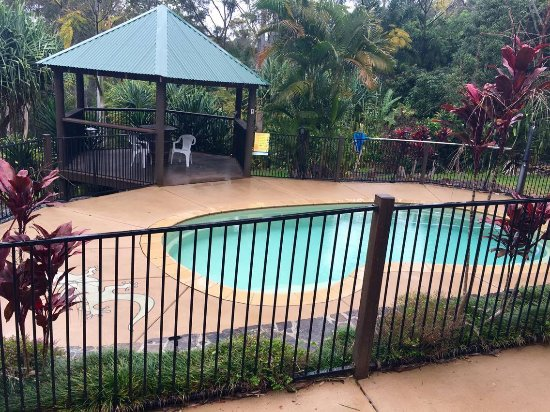 Mooloolah Valley, Australia: Rainy day pool