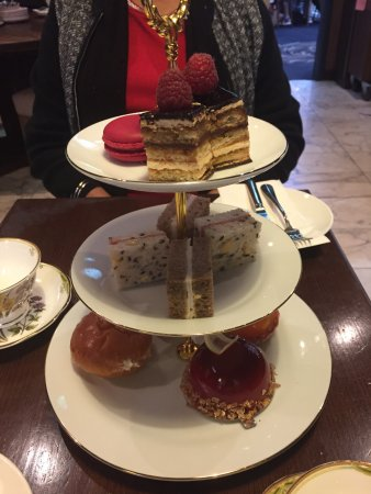high tea options Picture of Cicchetti Wine Bar QVB Sydney