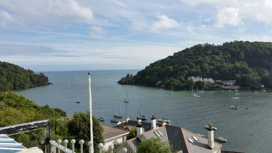 Kingswear, UK: The view from the Balcony