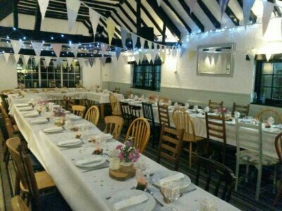 Wedding Reception Picture Of The Pond Barn Bracklesham Bay