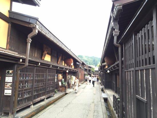 Hida, Japão: 長い道が続いています