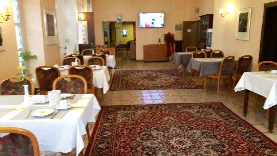 Hotel & Restaurant Krone Riesling: Sehr schöner Frühstücksraum