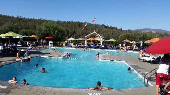 Geyserville, Kalifornia: The public pool