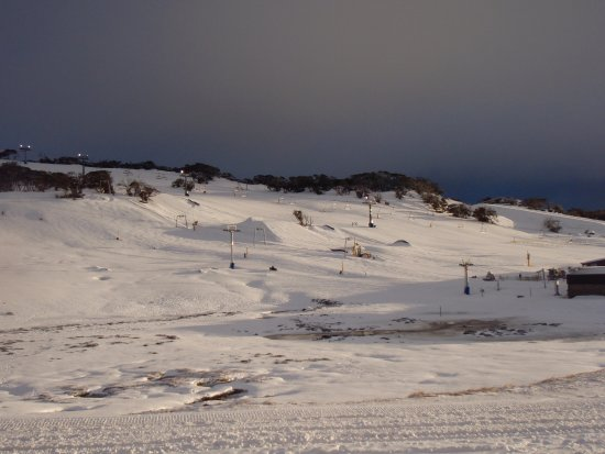 Perisher Valley, Australie : View from Room.