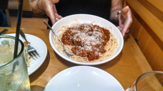 Wilkesboro, NC: Spaghetti & meatballs.