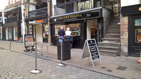The York Roast Co: Available off the main road