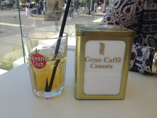 Province of Salerno, Italie : iced tea was delicious
