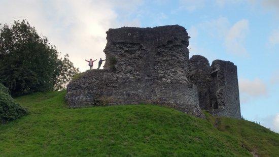 Llandovery, UK: Burg, 5 min. zu Fuß von der Unterkunft