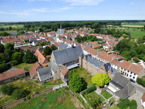 Bruges to Damme Bike Tour: View from the top