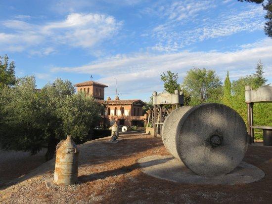 La Almunia de Dona Godina, Hiszpania: La Yeseria jardin