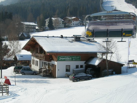 Rohrmoos-Untertal, Austria: Closer view from the chairlift