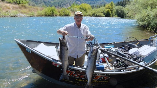Douglas City, Kalifornien: july 2016 tiger t's guide stayed at indian creek lodge