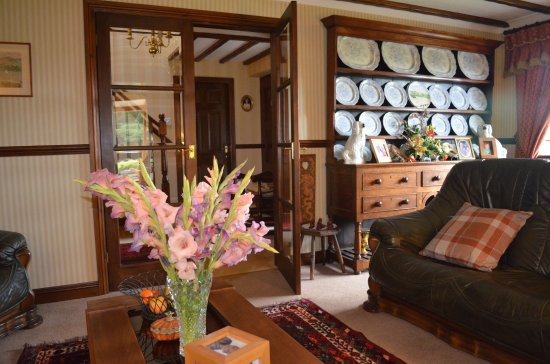 Frongoch, UK: Charming lounge