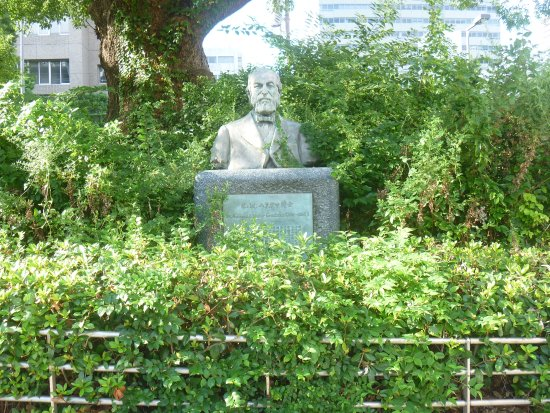 Statue of Dr. Koenraad Wolter Gratama