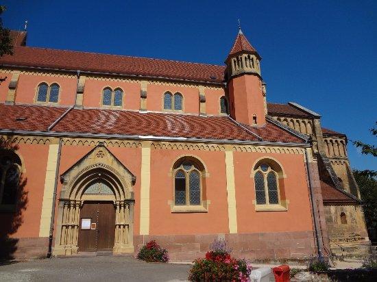 Eglise Saint-Martin à Pfaffenheim (exérieur)
