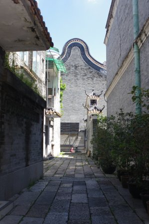 Shawan Aancient Town of Panyu: Opportunities for allyway photos.
