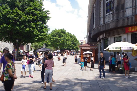 Shawan Aancient Town of Panyu: Middle Street for restaurants and bars