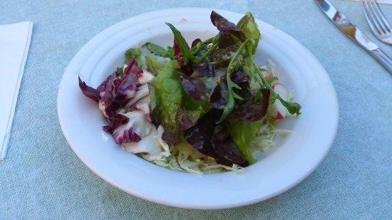 der beilagen-Salat  - Goldenes Ross, Wetzlar