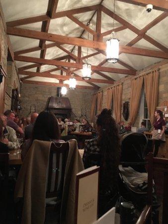 Lovely dinner in The Stables restaurant