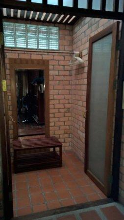 Seapines Villa Liberg: Spacious wardrobe / storage area in standard room