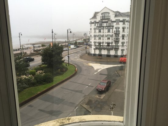 The Sefton hotel views from the double 2nd floor