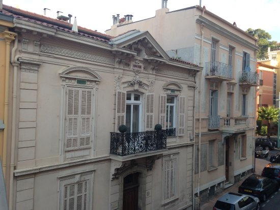 Ibis Styles Menton Centre: view from balcony - great for an evening wine