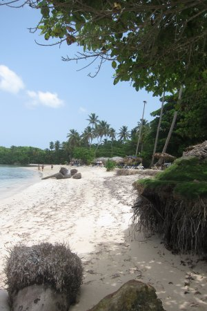 Las Galeras, Republik Dominika: La Playita beach