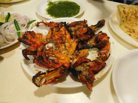 Tunday Kebabi : Tandoori chicken