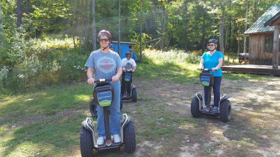 Gunstock Mountain Resort: A stop on the Segway tour