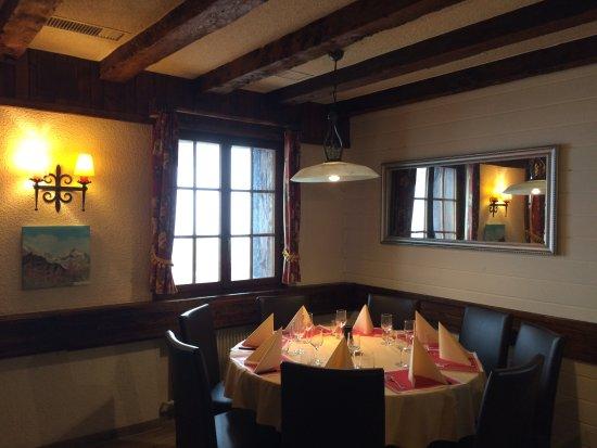 Auberge Le Petit Paradis : Restaurant