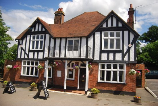 Ticehurst, UK: The Royal Oak (view from the front)