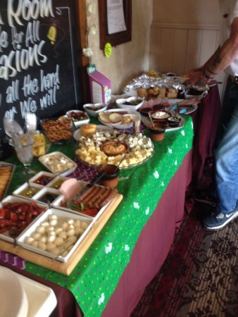 woodlesford uk meat and cheese board tasting for macmillan charity excellent reception and